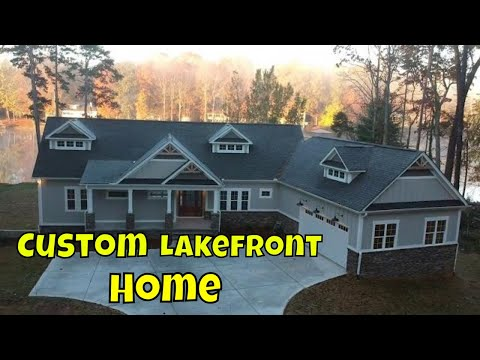 Custom Lakefront Home // Mike Palmer Homes Inc. Denver NC Home Builder