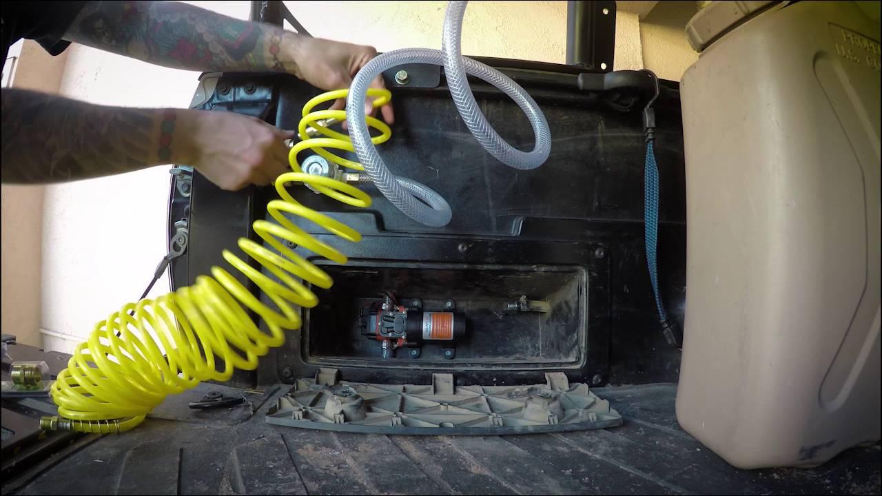 2014 Toyota Tacoma On Board Water Setup Youtube