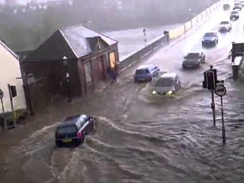 Raning in Perth - Scotland