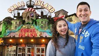 CORAL ISLAND Arcade Fun in Blackpool, England!!!