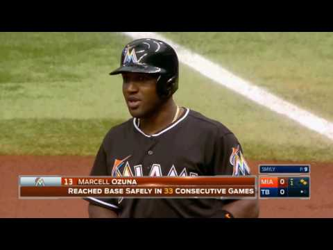 2016/5/26 MLB.TV Game of the Day Miami Marlins VS Tampa Bay Rays (馬林魚 VS 光芒)