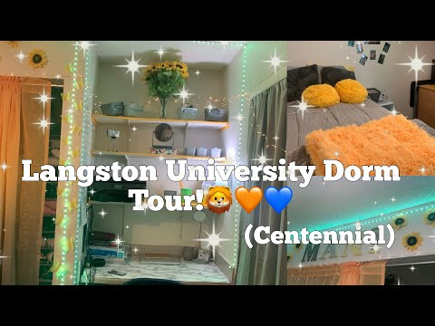 *DETAILED* HBCU ROOM TOUR//Langston University????????//TheManiShow????