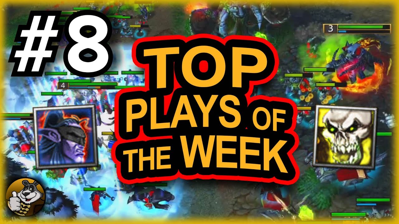 Top Plays of the Week #8 ft. KraV, Fly100%, Lin Guagua | Warcraft 3