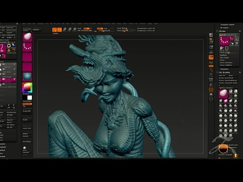 Official ZBrush Summit 2016 Presentation - Tomas Wittelsbach