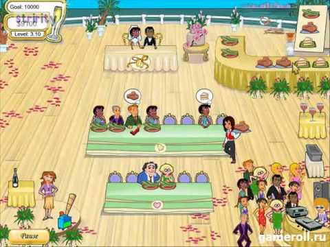 Геймплей игры Свадебный переполох
