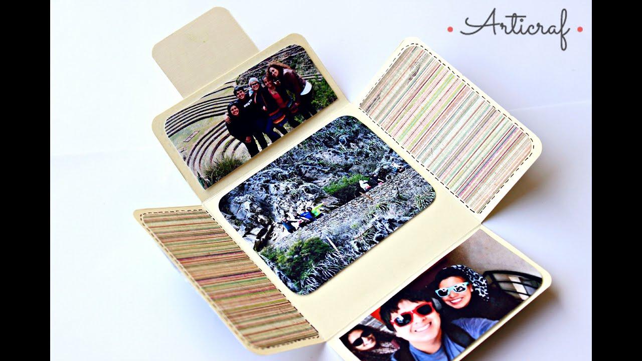 Como hacer una carta tarjeta cuadrada para mi novio - Como hacer tarjetas navidenas originales ...
