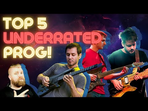 Top 5 Prog Bands You've Never Heard... But Should!
