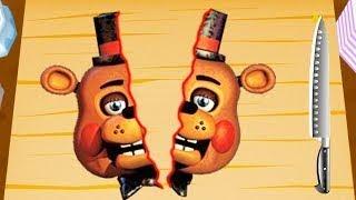 Готовка челлендж 5 НОЧЕЙ С ФРЕДДИ игрушки Аниматроники Чика как страшные мишки смешное видео