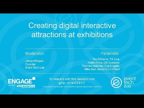 ETL2017 - Creating digital interactive attractions at exhibitions