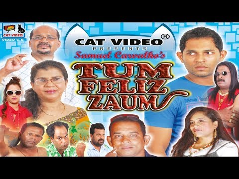 Tum Feliz Zaum | Full Konkani Movie | Manfa Music & Movies | CAT Video Present Konkani Film HD