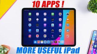 10 APPS That Will Make iPad More USEFUL !