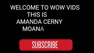 Sexy video of Amanda Cerny moaning