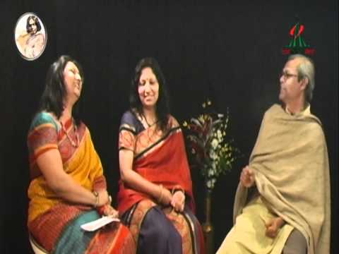 Mousumi Roy - TV discussion on Kazi Nazrul Islam - 1
