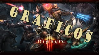 Diablo III - Comparação Gráfica (XBOX 360/PS3 vs PC) Max Settings 1080p Gameplay