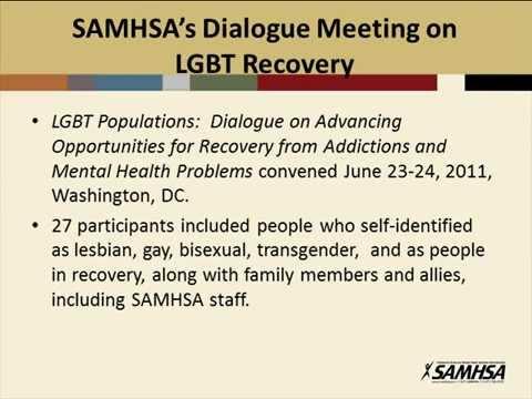 Update on SAMHSA
