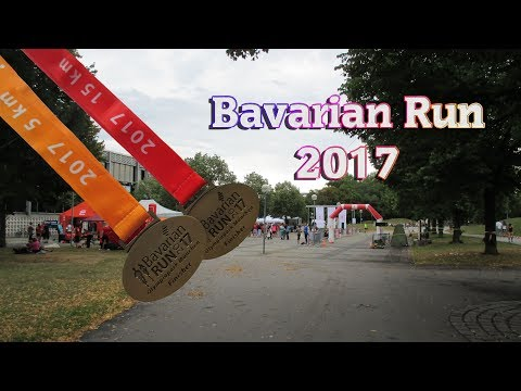 Bavarian Run 2017 München Olympiapark 5km und 15km (Impressionen aus Läufersicht)