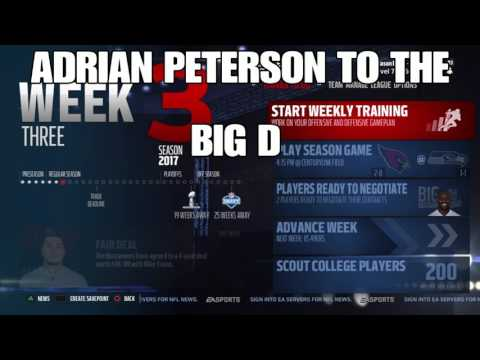 ADRIAN PETERSON AND DEMARCUS WARE TO THE COWBOYS!?!?!?