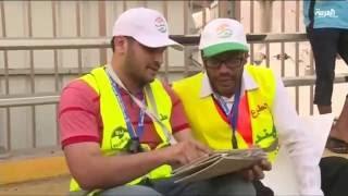 متطوعون غير عرب في الحج