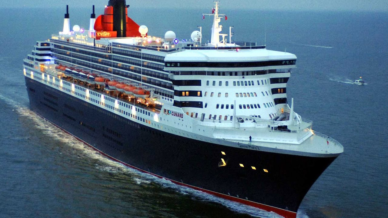 Queen Mary 2 Southampton New York December 2016 Youtube