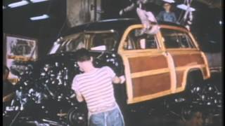 1949 Fords being assembled