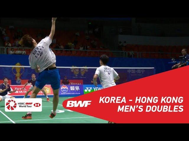 G1 | MD | MIN/KIM (KOR) vs. OR/TANG (HKG) | BWF 2019