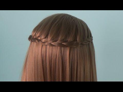 AnaTran - Dạy cách tết tóc thác nước đẹp chỉ trong 3 phút