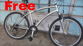 free autobike,  lets repair it and see how it works,.