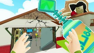 Troy's Secret Items Break Morty's House - Rick and Morty Virtual Rick-ality VR 2018 Gameplay