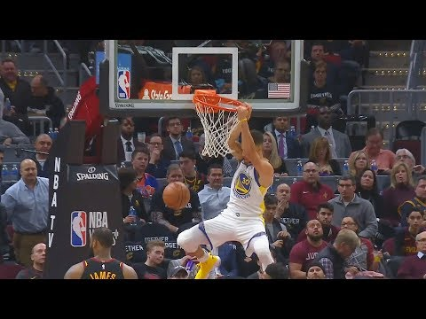 Stephen Curry DUNKS AND KEVIN DURANT CAN