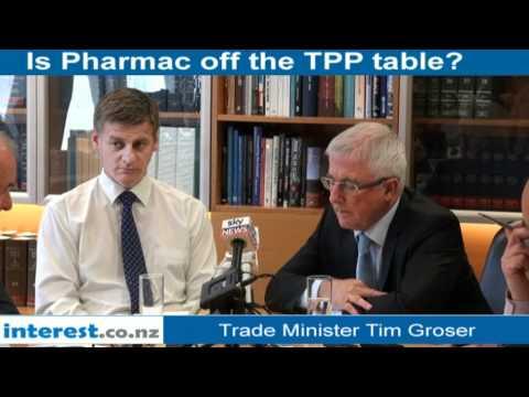 Tim Groser on Pharmac