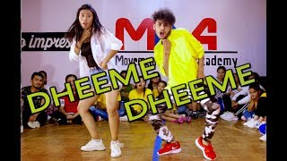 DHEEME DHEEME   Tony Kakkar ft. Neha Sharma  The Movement Dance Academy