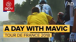 A Day At The Tour de France With Mavic Neutral Service | Tour de France 2018