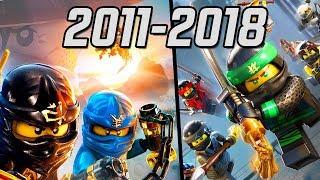 All LEGO Ninjago Games 2011-2018