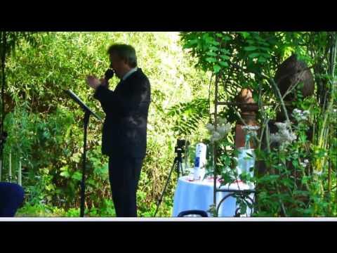 Freie Hochzeitszeremonie Auf Englisch Michael Laumen Youtube