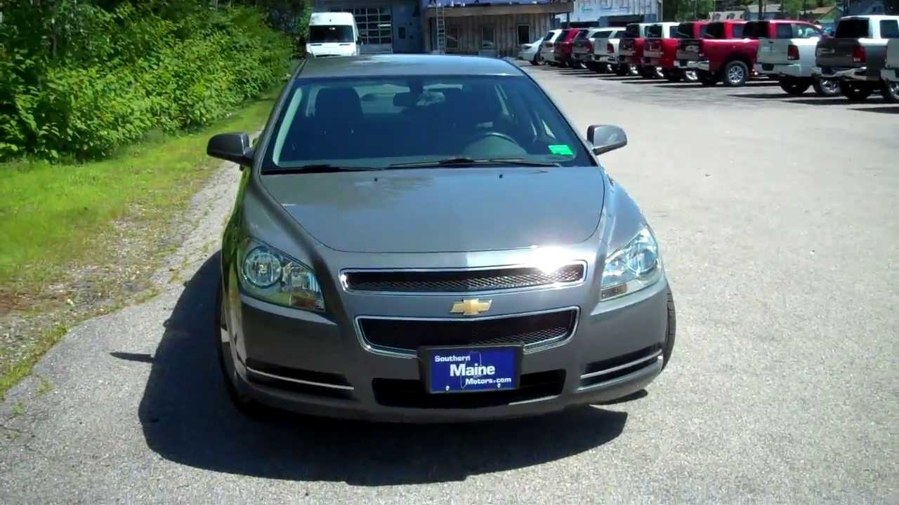 Used 2009 Chevy Malibu LT #8680A Car Dealers In Maine Southern Maine  Chrysler Dodge Jeep