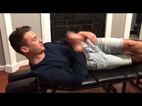 Sports injury due to unbalanced hips being corrected by CHIROPRACTIC adjustments