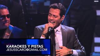 KARAOKE Marc Anthony (REMIX) Vivir mi Vida (Version Pop)