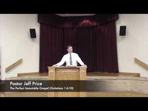 The Perfect Immutable Gospel - Jeffrey Price