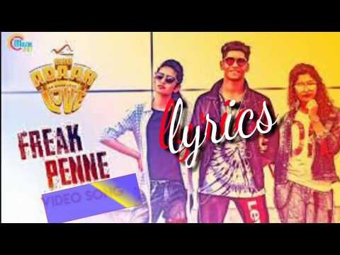 Freak Penne || Oru Adaar Love || Lyrics