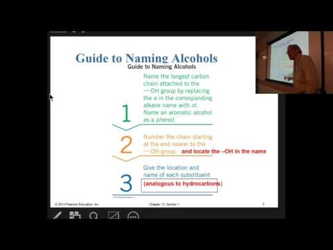Chemistry104F16Chapter13FirstLecture Alcohols Ethers, Thiols