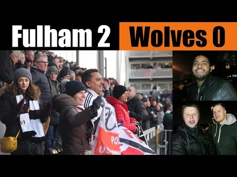 Fulham 2 Wolves 0 | Can't believe it...mesmerising stuff!!! | Fulham football club
