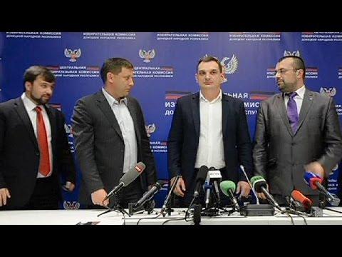 Rebel vote in east Ukraine returns pro-Russian separatist leaders