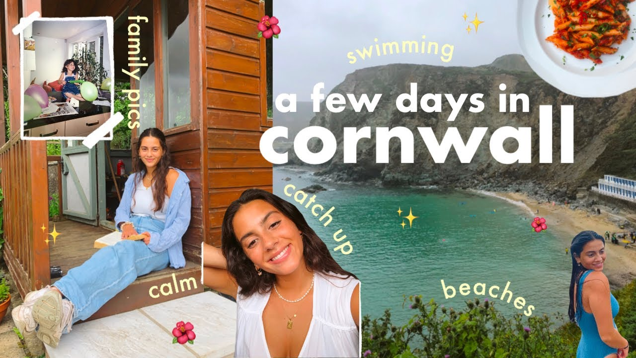 a few days in cornwall with the fam 🥰✨