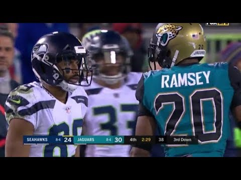 Doug Baldwin vs Jalen Ramsey (2017) WR vs CB