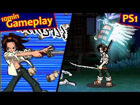 Shaman King: Spirit of Shamans ... (PS1) 60fps