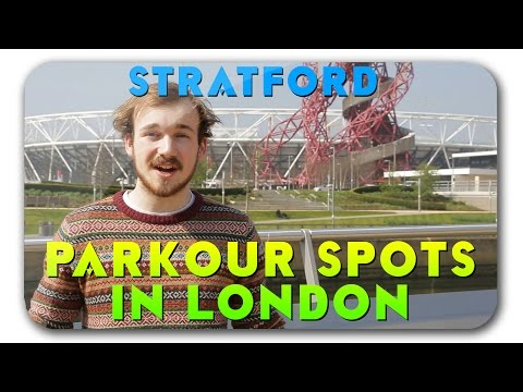 Parkour, Freerunning Spots In London #4 - Stratford
