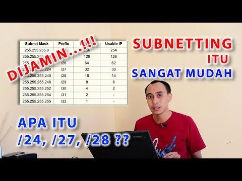 [Tips Komputer dan Jaringan] Teknik menghitung Subnetting kelas C yang c...