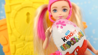 Kinder Niespodzianka | Barbie w Świecie Gier | Bajki dla dzieci