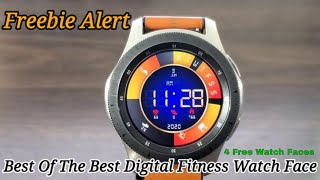 Freebie Alert Samsung Galaxy Watch/Galaxy Watch Active 2 Watch Faces (4 Free watch Faces)