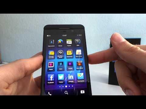 BlackBerry Z10 okostelefon bemutató videó | Tech2.hu